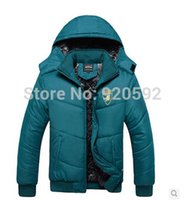 big blue worsted - Fall The winter fashion leisure Korean version of the new brand men s thick warm big yards cotton jacket coat