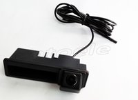 Wholesale For AUDI A6L A4 A3 S5 trunk handle camera PC3089k HD TVL car rear view camera Night vision waterproof
