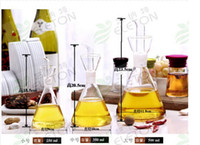 glass bottle olive oil - Glass oil vinegar bottle Oil can Caster Olive oil The kitchen supplies