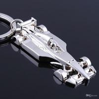Al por mayor-FIA Mundial de Fórmula 1 llavero anillo llavero Llavero Chaveiro titular de la clave de carreras de F1 Llavero