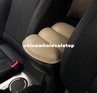Wholesale Car Auto Armrests Cover Vehicle Center Console Arm Rest Seat Box Pad Protective Case Soft PU Mats Cushion Universal