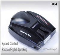 Wholesale Universal Car Radar Detector Car Anti Radar Detector English speaking Laser Detector in Russian English Language