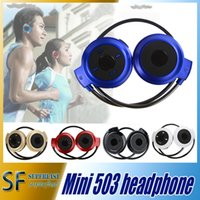 Cheap Mini 503 Bluetooth stereo Headphone Bluetooth stereo V2.1 headset Fashion Sport Running Headsets Studio Music Heaphone With retail package