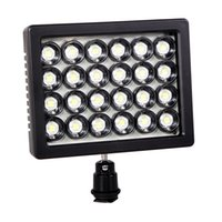 Wholesale WANSEN W24 LED Video Light W LM K K DC For All DSLR Sony Canon Panasonic Pentax Olympus Camera