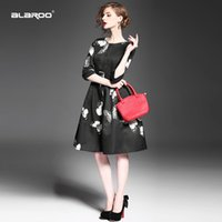 american crew fiber - 2015 Autumn new women s high round neck Sleeve Butterfly Print shirring skirt type coat with belt