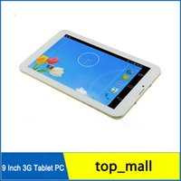 Cheap 3G Phone Call 9 Inch 1GB 8GB MTK6572 Dual Core Tablet Android 4.2 Dual Sim Card 3G WCDMA GPS BT Dual Camera Tablet PC P900W hot sale 002773