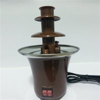 chocolate fountain - Lowest Price Chocolate Fondue Worked with AC Chocolate Melting Pot Three Tier Gray Chocolate Fountain Sale Online MY A