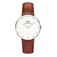 Wholesale Luxury DW Watch mm Daniel Wellington Watch Women Diamond Quartz watch Female Leather Ladies Dress Wristatch Relojes Relogio Feminino LCC4
