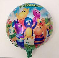 backyardigans birthday party - inchThe Backyardigans foil balloon for Birthday Party balloons helium