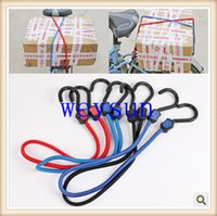 Wholesale DHL Freeshipping Rubber bungee cord to hook two cars with luggage elastic rope tied rope