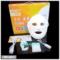 Wholesale 2016 New Hot PDT LED Photon Facial Mask Skin Rejuvenation Therapy Wrinkle Removal Anti Aging
