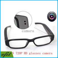Wholesale HD P Camcorder mini DVR Camera Eyewear Clear Glasses Video Recorder Hidden Spy Camera Digital Video Camcorder