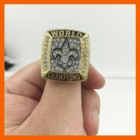 Cheap Bottom Price for 2009 New Orleans Saints Replica Super Bowl Championship Ring for Fans