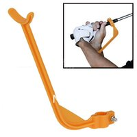 Wholesale Hot sale Golf Practice Swing Educational Trainer Guide Gesture Alignment Training Wrist Correct Aid Plane Tool Club