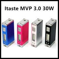 Cheap Innokin iTaste MVP 30W VV VW 30watts Battery Mod MVP 3.0 3800mAh Batteries With OLED Screen 510 eGo Adapter VS itaste 134 MVP 2.0