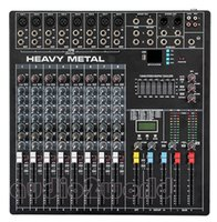 Wholesale DJ800 Professional Audio Powered Mixer Channels Double Graphic EQ Mezcladora De DJ