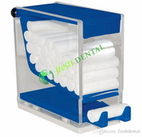 Wholesale Dental Dental Cotton Roll Dispenser PRESH design three colors easy for use Dental consumables MB