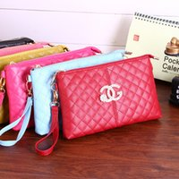 Wholesale 2015 new small sweet wind double drill practical hand bag purse handbag single package color
