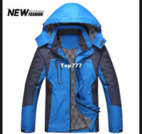 Wholesale outdoors snow jacket men s winter coat cotton hoodies for men jackets for men winter jacket outdoor jacket zipper