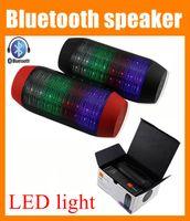 Wholesale Outdoor speaker portable LED light Bluetooth wireless big sound speaker box Subwoofer stereo system super bass portable speaker OTH012