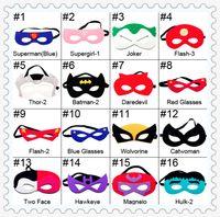 Wholesale Halloween mask cosplay eye mask party mask masquerade masks performance mask superman mask Eye Shade for superman cape hot sell