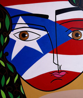 art perez - Giclee borin cana mary tere perez oil painting arts and canvas wall decoration art Oil Painting on Canvas Poll Meet Atlas