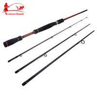 Cheap Fishing Fishing Rods Top quality ! 4 section 2.1m 2.4m 2.7m Strong Telescopic Fishing Rod Fishing Tackle Carp Lure Sea Rod