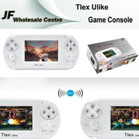 Wholesale PSP Tlex Ulike Smart Handheld Game Console GB Bluetooth Wifi HDMI Video Portable Games Player NES FC Support MP4 MP5 Camera Android TV Box