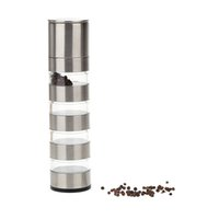 Wholesale Stainless Steel Portable Manual Pepper Grinder Salt Muller Kitchen Seasoning Grinding Tool Pepper Mill Kitchen Accessories DHL H14993