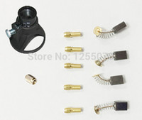 air drill motors - DREMEL Drill Lock Nut A grade Carbon Brush Copper Chuck Electric Drill Locator Horn Rotary accessories Motor Brush order lt no