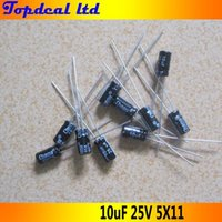 aluminum capacitors - 200pcs uF V Radial Electrolytic Capacitors x11mm