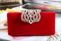 motorcycle hard bags - High Quality Wedding Handbag With Chain Crystal Beaded Bride Clutches Women Lady Evening Prom Party Purse Shoulder Bags Accessory QM