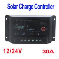 Wholesale 30A V Solar Panel Battery Charge Controller Regulator Light