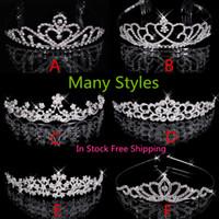 Cheap Bridal Tiaras Best Pearls Wedding Crowns