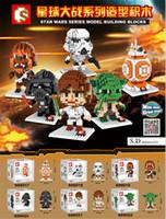 Wholesale SD cm box star wars series blocks Bricks NOT LOZ
