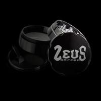 aluminum grinder herb - 2015 May New CNC grinder Aluminum Grinder Black color Tobacco grinder herb grinder shapston grinder Zeus grinder