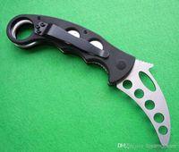 Cheap New 6pcs Emerson Training Claw Karambit G10 Handle Folding blade knife Fox gear EDC Pocket Knife hunting knife camping knife knives