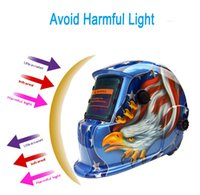 arc stick welding - Auto Darkening Solar Eagle Welding Protective Helmet Mask with Grinding Function Ideal for ARC MIG TIG Stick Welding PIT_105