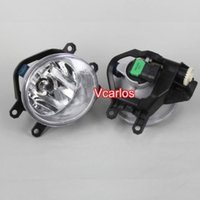 Wholesale Free delivery auto parts fog lamp kits TOYOTA PRADO Fog Light Clear Lens PAIR SET Wiring Kit