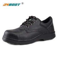 Wholesale ANBOOT Insulated steel toe shoes breathable non slip rubber sole shoes safety shoes leather shoes Anti puncture shoes