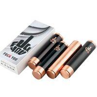 Wholesale Fuhattan V2 Mod Carbon Fiber Mechanical Mod clone with logo for Battery Thread RBA RDA Vaporzer Atomizer