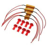 Wholesale 4pcs Flash Rate Load Resistors LED Turn Signals Indicator Blinkers Controllers W Free sh ipping