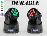 Wholesale 70w IN1 RGBW MINI LED Moving Head stage light Wash Light led effect light DJ stage light Wash Light LED Moving Head For Event Disco Party
