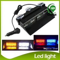 Wholesale S2 Viper Federal Signal High Power Led Car Strobe Light Auto Warn Light Police Light LED Emergency Lights V Car Front Light Car Lamp