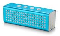 audio interface pc - HOT SALE AJ91 Aluminum Bluetooth Wireless Speaker MAH W Voice Box mm Interface For iPhone Samsung Smart Phones Tablet PC ZQL23