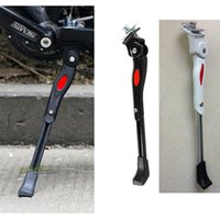 Wholesale Adjustable Aluminum Bicycle Kickstand Folding Cyling Side Stand Parking Leg Rod Mountain Bike Parts A5