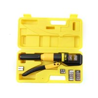battery terminal tool - 10 Ton Hydraulic Wire Battery Cable Lug Terminal Crimper Crimping Tool Dies