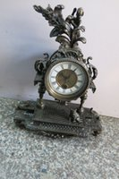 antique chinese bell - Chinese Qing Dynasty royal clock old clock Western Bell Angel