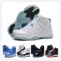 Wholesale Cheap XI Legend Blue Basketball Shoes Good Quality Men Sports Shoes Women mens Trainers Athletics Boots Retro XI Sneakers