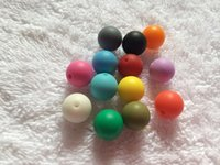 Wholesale Baby Safe Teething Beads mm Round Beads Silicone Teething Loose Beads DIY Necklaces Baby Bracelets Mama Jewelry